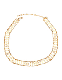 Fashion 14k Gold Plated Gold Chain - Charm