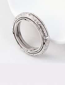 Fashion Platinum Gold Plated Ring - Astronomical Ball Ring