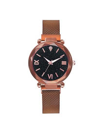 Fashion Bronze Star Tape Watch