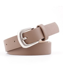 Fashion Khaki Light Body Belt