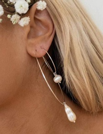 Fashion Gold Pearl Ear-rings
