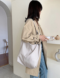 White Shoulder Messenger Bag