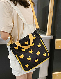 Banana Fruit Print Shoulder Crossbody Bag