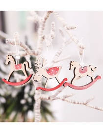 Fashion Rocking Horse Pendant (one For Each Of The Three Models) Christmas Tree Pendant