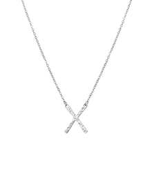 Fashion Steel Color Stainless Steel Geometric Necklace
