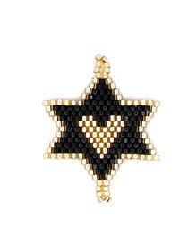 Fashion Black Unicorn Rice Beads Weaving Accessories