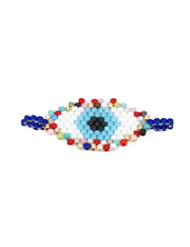 Fashion Color Eye Bead Woven Accessories