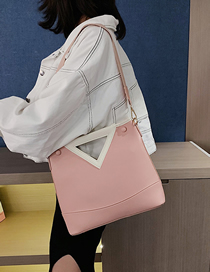 Fashion Pink Mother Bag Crossbody Shoulder Bag