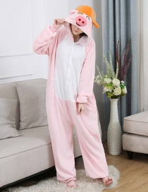 Mcdull Flannel Cartoon One-piece Pajamas