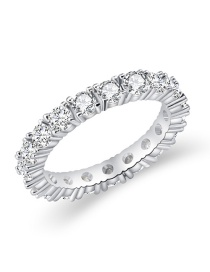 Fashion Silver Diamond Ring