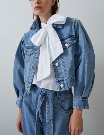 Fashion Blue Denim Jacket
