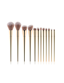 Fashion Zibinjin 12 - Purple Gold - Makeup Brush