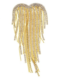Fashion Gold Flash Drill Tassel