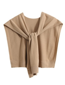 Fashion Khaki Canvas Vest