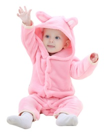 Fashion Pink Long Sleeve Flannel Cubs