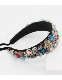 Fashion Color Headband Gemstone Headband