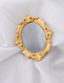 Espejo Tallado Marco De Fotos Broche