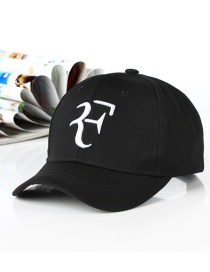 Fashion Letter F-black Embroidered Letter Cartoon Baseball Cap