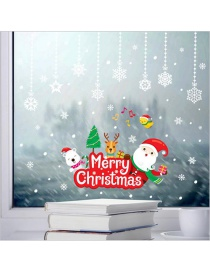 Fashion Color Christmas Wall Sticker