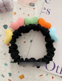 Fashion Black Contrast Color Love Hair Band