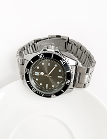 Fashion Green Alloy Electronic Element Chain Watch