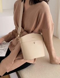 Fashion Khaki Broadband Shoulder Crossbody Bag
