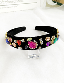 Color Alloy Diamond Headband
