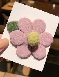 Clip Superior De Felpa De Flores