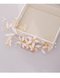 Fashion Hair Comb Braided Butterfly Hair Comb