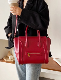 Fashion Red Wings Chain Diagonal Shoulder Bag