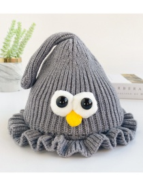 Fashion Gray Fungus Eye Baby Hat