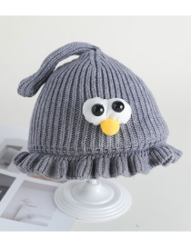 Fashion Dark Green Eye Fungus Baby Hat