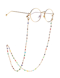 Fashion Golden Crystal Non-slip Handmade Glasses Chain