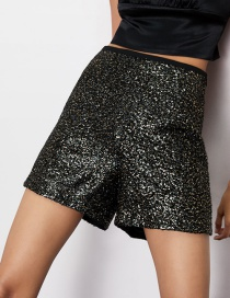 Fashion Color Sequined Shorts