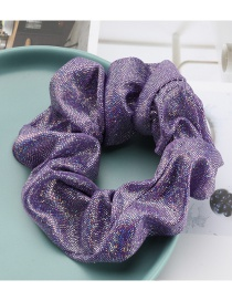 Fashion Purple Elastic Stretch Cord With Sequined Fabric