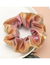 Fashion Yellow Colorful Gradient Color Bowel Hair Rope
