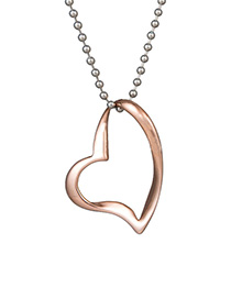 Collar De Acero Inoxidable Love Irregular