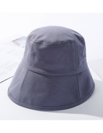 Fashion Blue Cotton Eaves Fisherman Hat