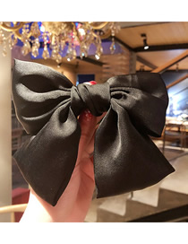 Fashion Black (hairpin) Double Bow Hair Clip