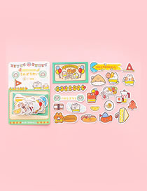 Fashion Games [40 Patterns In Total 40 Pieces] Mitt Cat Sandwich Rice Ball Games Sticker Pack