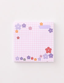 Fashion Flowers Flower Sticky Note Paper For Students