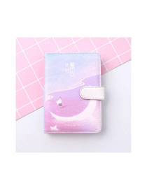 Fashion Lost Moon Lost Month Portable Notebook