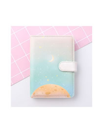 Fashion Starry Sky Starry Sky Portable Portable Notebook