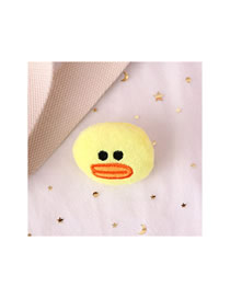 Fashion Toucan Big Mouth Duck Plush Embroidery Brooch