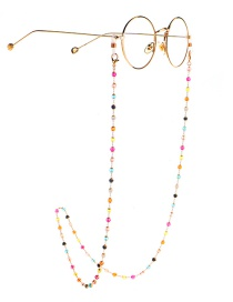 Fashion Color Colorful Crystal Glasses Chain