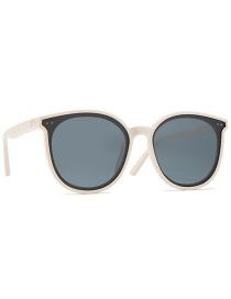 Fashion Beige Frame All Gray Polarized Oval Frame Tac1.1 Polarized Sunglasses