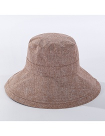 Fashion Khaki Foldable Sun Hat