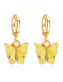 Fashion Gold Color Pearl And Diamond Flower Earrings