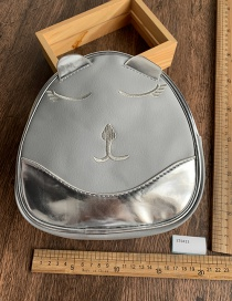 Fashion Silver Pet Dog Backpack