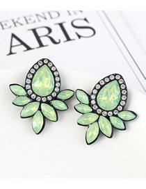 Fashion Silver Double-layer Geometrical Alloy Hollow Ear Clip Without Pierced Ears